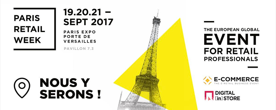 Paris Retail Week 2017 - 3 questions à Keyneosoft