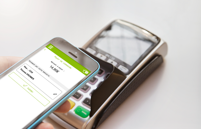 Paiement mobile en magasin