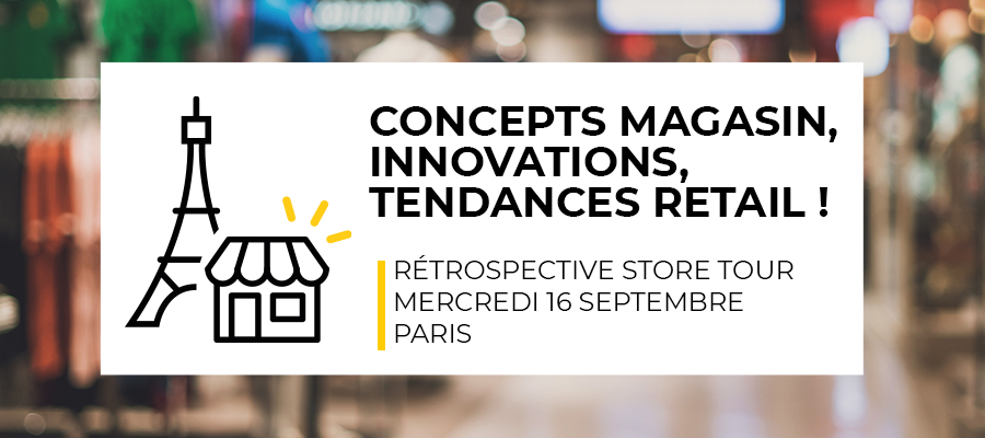 Concepts magasin, innovations, tendances retail !
